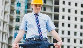 Банкротов в строительной отрасли стало больше на 17,3%