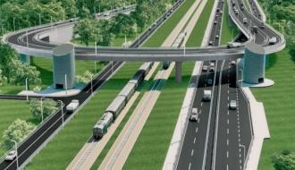 Два платных путепровода построят в Московской области