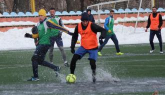 Футбол. Ведущие команды области сыграли между собой (ФОТО+ВИДЕО)