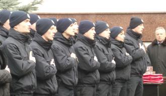 Хмельницкие патрульные полицейские отпраздновали первую годовщину работы