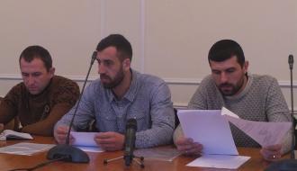 Хмельницким активистам, которые перекрывали Западно-Окружная, удалось договориться с властями