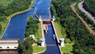 Канал им Москвы создает инфраструктуру для рынка стройматериалов на реке