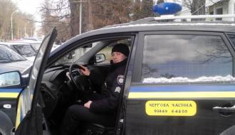 Машины каменецких полицейских оборудовали видеорегистраторами