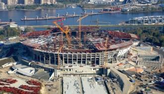 Минстрой проинспектировал ход строительства стадиона к ЧМ-2018 в Волгограде