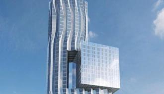 На территории ЗИЛа возведут стеклянный небоскреб