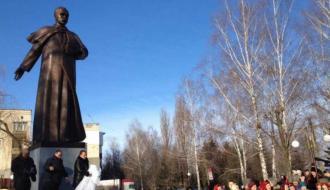 Около десяти лет в Староконстантинове ждали открытия памятника Тарасу Шевченко