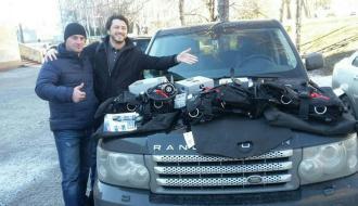 Сергей Притула передал два комплекта водолазного снаряжения для саперов до Каменца-Подольского