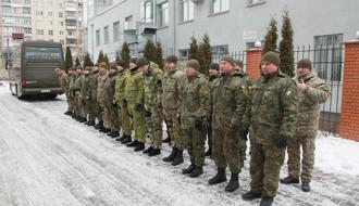 Спецрота полицейских из Хмельницкого отправилась нести службу на Донетчину