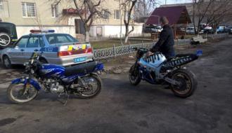 В Городке полиция ночью ведет борьбу с мотоциклистами