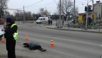 В Хмельницком на пешеходном переходе насмерть сбили женщину (ОБНОВЛЕНО)