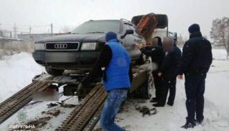 В Хмельницком обнаружили автомобиль с поддельными документами