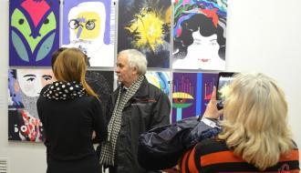 В Хмельницком открыли выставку, где Григорий Сковорода жарит блины, а Андрей Шептицкий читает рэп