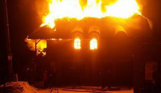 В Хмельницком районе дотла сгорел дом