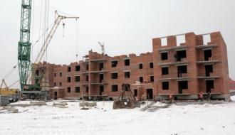 В Хмельницком строят 90-квартирный дом для бойцов Национальной гвардии