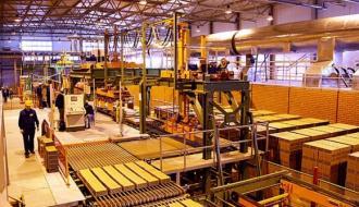 В России упало производство бетона и кирпича