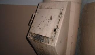 В Шепетовке в многоэтажке загорелся мусоропровод