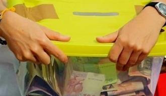 В Славуте задержали грабителя, который похищал ящики для пожертвований на лечение больных детей