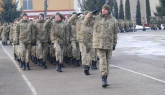 В хмельницкой пограничной академии почтили память погибшего в АТО старшего лейтенанта