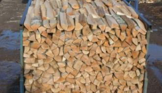 Колотые дрова с доставкой на дом
