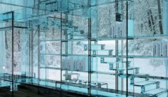 Художественное стекло для интерьеров