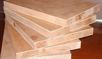 Дощатые клееные блоки и плиты