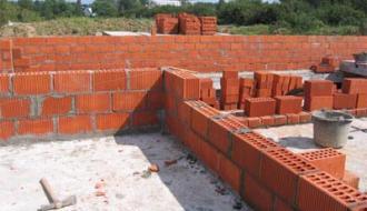 Строительство из кирпича