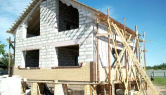Внутренняя и внешняя отделка стен из газобетонных блоков