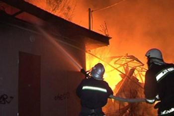 За сутки в области на пожарах погибло двое людей