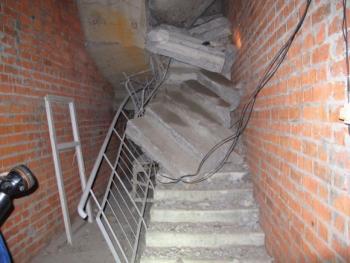 3 строителя погибли при обрушении лестниц в строящемся доме в Саранске