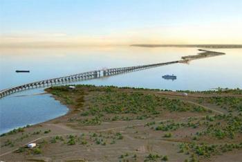 Железную дорогу к Керченскому мосту никто не хочет строить