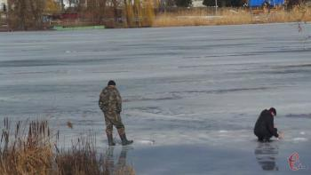 Жителей области предупреждают о тонком льде на водоемах