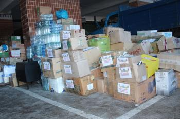 Жителям Авдеевки в Хмельницкой области уже собрали почти 60 тонн гуманитарного груза