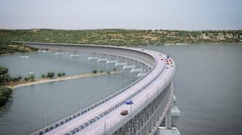 Готово 70% опор моста через Керченский пролив