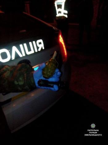 Хмельничанин пришел с гранатой в один из ночных клубов города