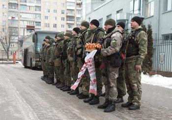 Хмельницкие правоохранители вернулись из зоны АТО