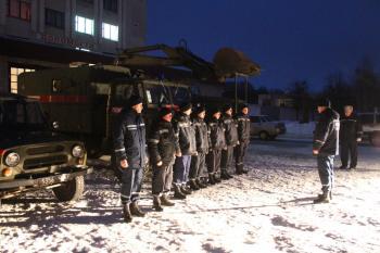 Хмельницкие спасатели отправились в зону АТО