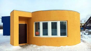 Первый в России напечатанный дом появился в Подмосковье