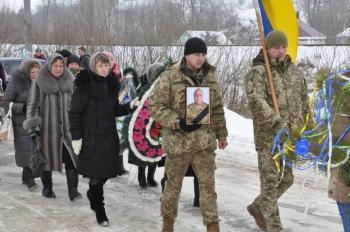 В Белогорье простились с 35-летним бойцом, который умер в зоне АТО