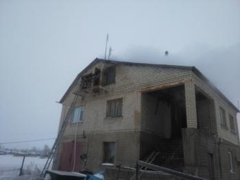 В Деражне по неизвестным причинам горел дом