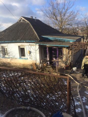 В Городокском районе во время пожара в собственном доме погибла 79-летняя бабушка