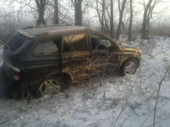 В Хмельницком на Винницком шоссе столкнулись две иномарки. Есть пострадавшие