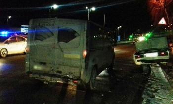 В Хмельницком на проспекте Мира произошло ДТП с участием четырех автомобилей