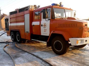 В Хмельницком районе произошел пожар жилого дома