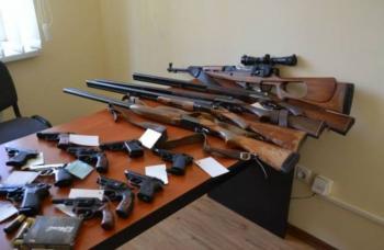 В Хмельницкой области начался месячник добровольной сдачи оружия