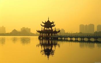 В КНР начали строить мост между двумя островами