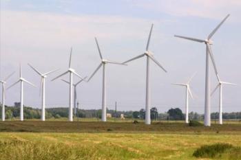 В России начали строить первый ветропарк