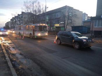 В областном центре с самого утра сбили пешехода