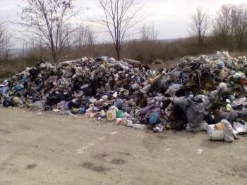 В одном из районов области неизвестные выбросили 40 тонн львовского мусора