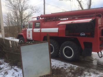 В пожаре на Городоччине в собственном доме погиб мужчина