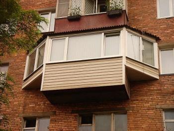 Выносной балкон заказать в профессиональной компании